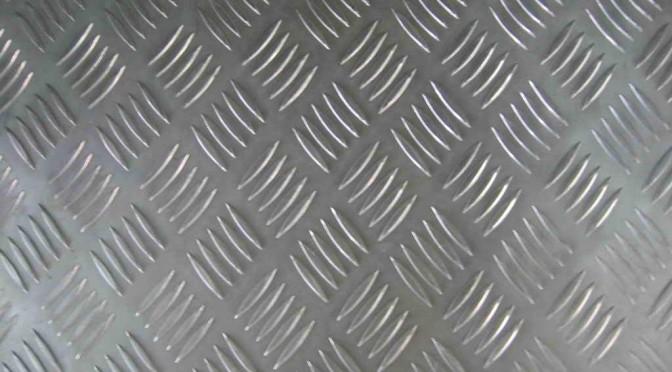 6000 5-bars Aluminum Tread Plate for sale