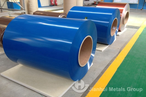 Color Coated Aluminum Coil for sale