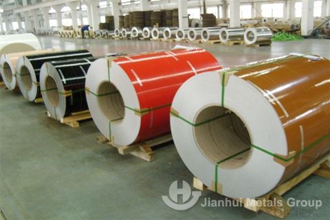 PVDF color coated aluminum coil for sale