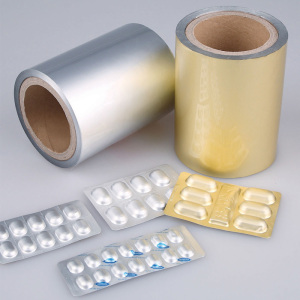 pharmaceuticals fresh and safe with heat seal aluminum foils